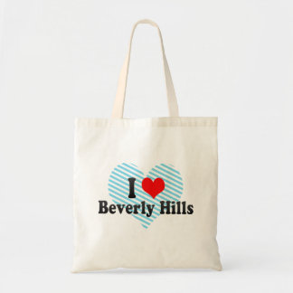 I Love Beverly Hills, United States Budget Tote Bag
