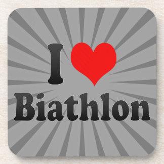 I love Biathlon Coasters