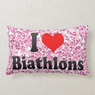 I love Biathlons Pillows
