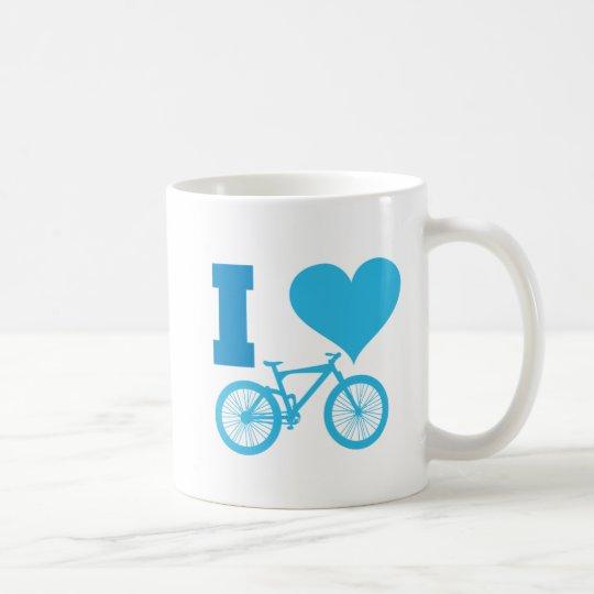 I Love Bicycle Coffee Mug