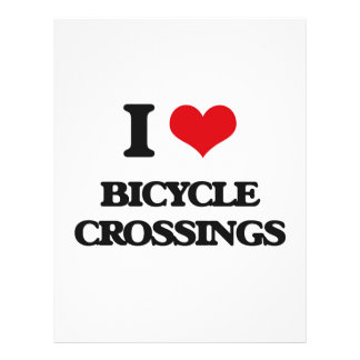 I Love Bicycle Crossings Full Color Flyer