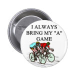 i love bicycle racing button