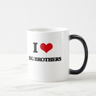 I Love Big Brothers Mugs