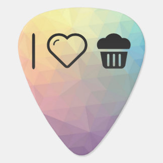 I Love Big Cupcakes Plectrum