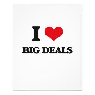 I Love Big Deals Full Color Flyer