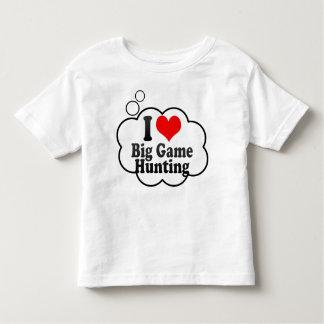 I love Big Game Hunting T-shirts