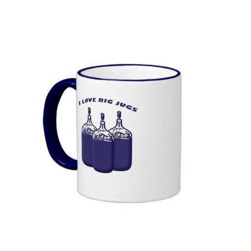 I Love Big Jugs Mugs