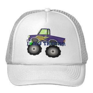 I Love Big Trucks Trucker Hat