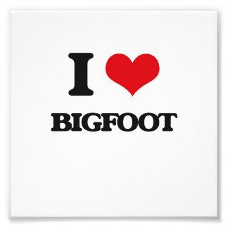 I love Bigfoot Photograph