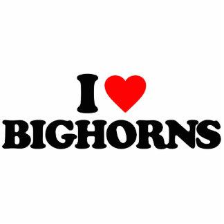 I LOVE BIGHORNS CUT OUT
