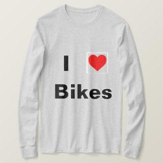 I love bikes long sleeve shirt