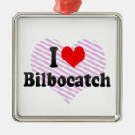 I love Bilbocatch Christmas Ornaments