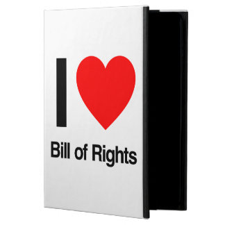 i love bill of rights iPad air cover