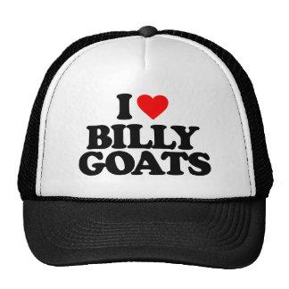 I LOVE BILLY GOATS CAP