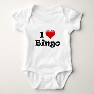 I Love Bingo Baby Bodysuit