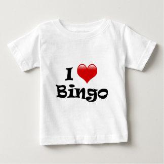 I Love Bingo Tee Shirts
