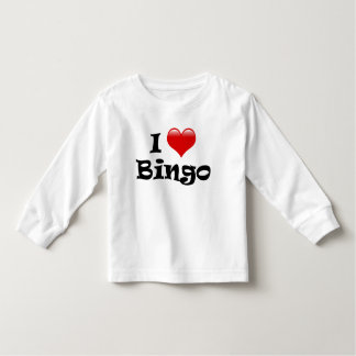 I Love Bingo Toddler T-Shirt