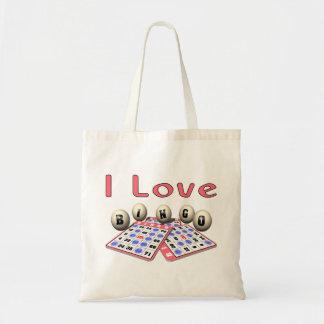 I Love Bingo Tote Bag
