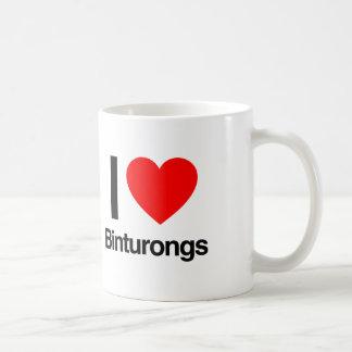 i love binturongs coffee mug
