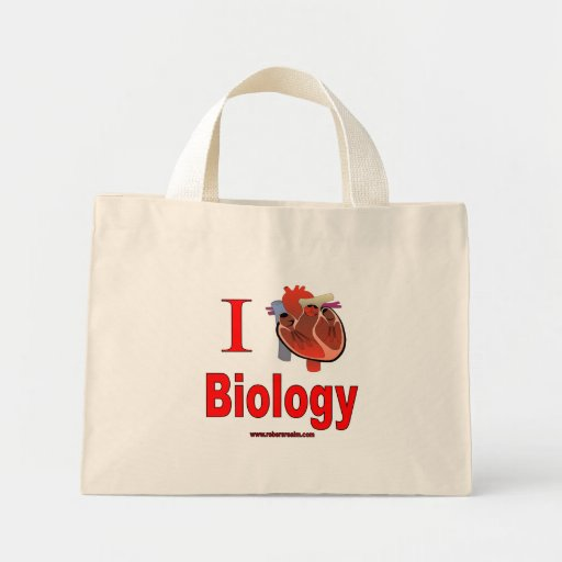 I Love Biology Bags