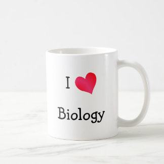 I Love Biology Coffee Mug