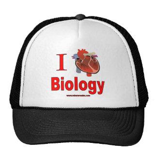 I Love Biology Hat