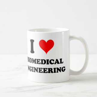 I Love Biomedical Engineering Classic White Coffee Mug