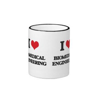 I Love Biomedical Engineering Ringer Coffee Mug