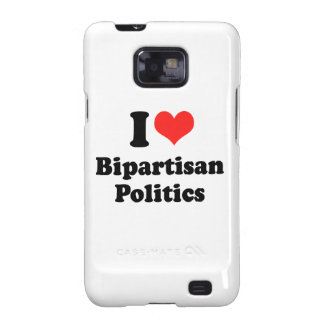 I LOVE BIPARTISAN POLITICS.png Samsung Galaxy SII Cases
