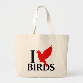 I Love Birds Bags