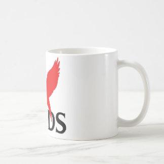I Love Birds Classic White Coffee Mug