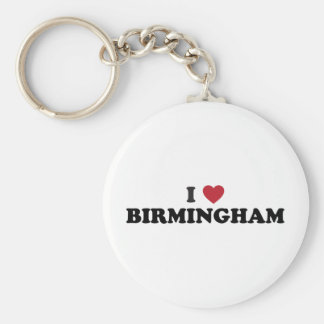 I love Birmingham Alabama Key Ring