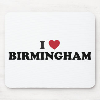 I love Birmingham Alabama Mouse Mat
