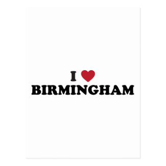 I love Birmingham Alabama Postcard