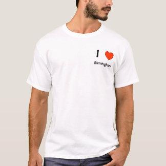 I love Birmingham logo T shirt
