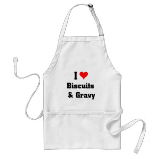 I love biscuits and gravy standard apron