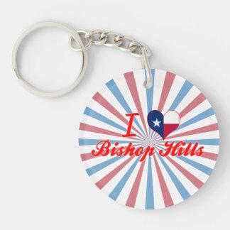 I Love Bishop Hills, Texas Acrylic Key Chain