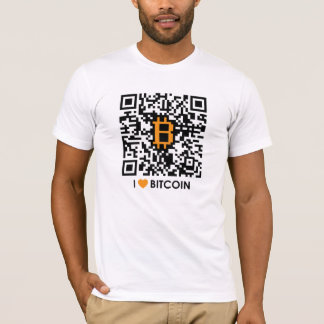 I Love Bitcoin - Make your own Bitcoin T-Shirt