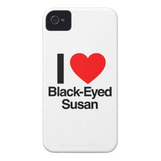 i love black-eyed susan iPhone 4 Case-Mate case