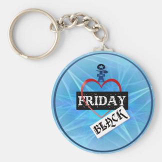 I Love Black Friday Keychains