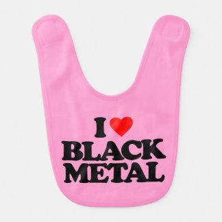 I LOVE BLACK METAL BIB