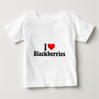 I Love Blackberries Baby T-Shirt