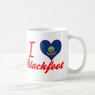 I Love Blackfoot, Idaho Mugs