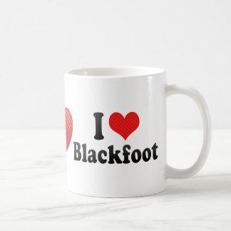 I Love Blackfoot Mugs