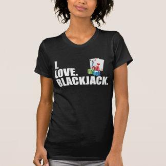 I Love Blackjack Tshirt