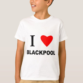 I Love Blackpool. T-Shirt