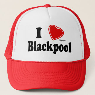 I Love Blackpool Trucker Hat