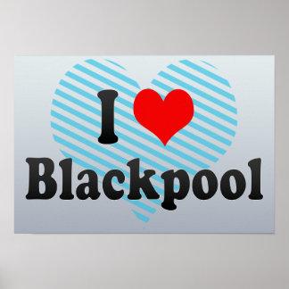 I Love Blackpool, United Kingdom Poster