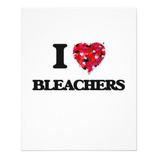 I Love Bleachers 11.5 Cm X 14 Cm Flyer
