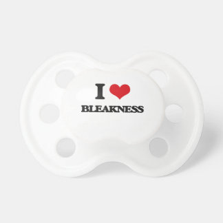 I Love Bleakness BooginHead Pacifier